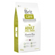 Brit Care New Adult Small Breed Lamb & Rice 7,5kg-1
