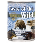 Taste of the Wild Pacific Stream Canine z mięsem z łososia puszka 390g-1