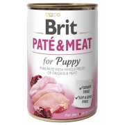 Brit Pate & Meat Dog Puppy puszka 400g-1