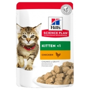 Hill's Feline Kitten Chicken saszetka 85g-1